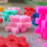 Photo of interlocking plastic toys
